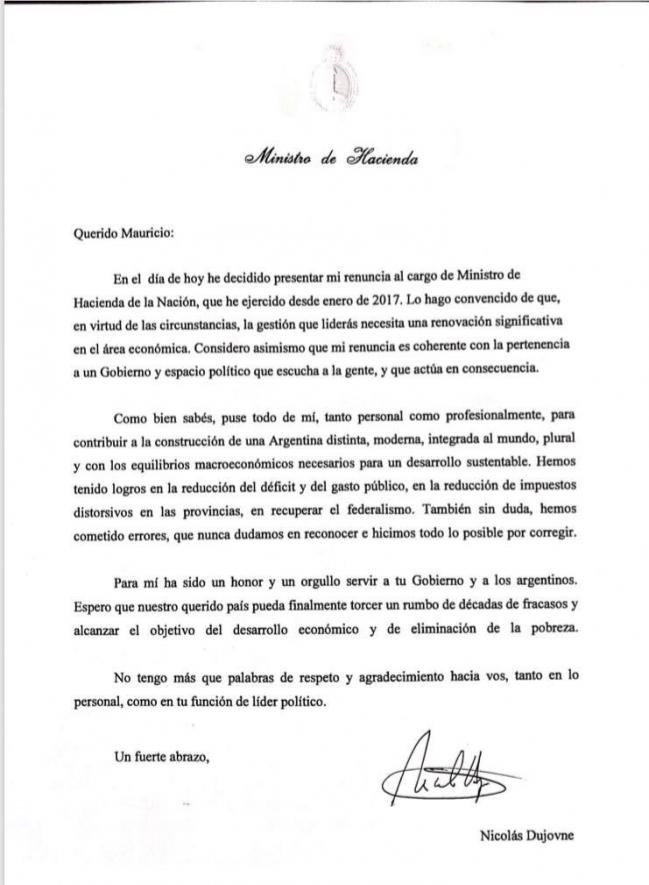 Carta Dujovne
